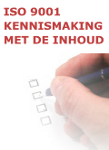 ISO 9001 KENNIS MAKING